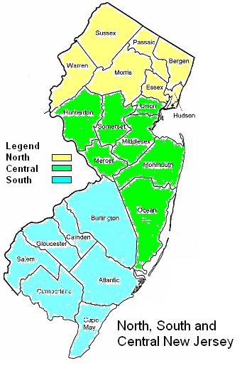 Central New Jersey Map North South Central Jersey Map CP cropped   Carl E. Peters, LLC