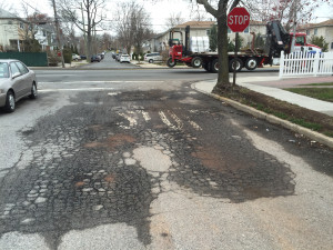 Freeze - thaw pavement damage