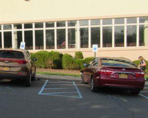 Excessive Cross Slope in ADA Parking